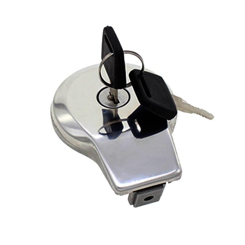 Aluminum Gas Cap Fuel Cover Oil Case Fit For YAMAHA MAXIM XJ XS 550 650 700 750 1100 SR125 SR185 SR250