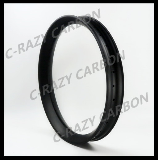 New product! fat bike carbon rim Hookless 26er Tubeless Compatible