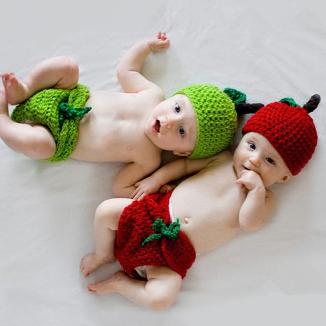 Handgemachte babymütze mit windel abdeckung, set fotografie props ...