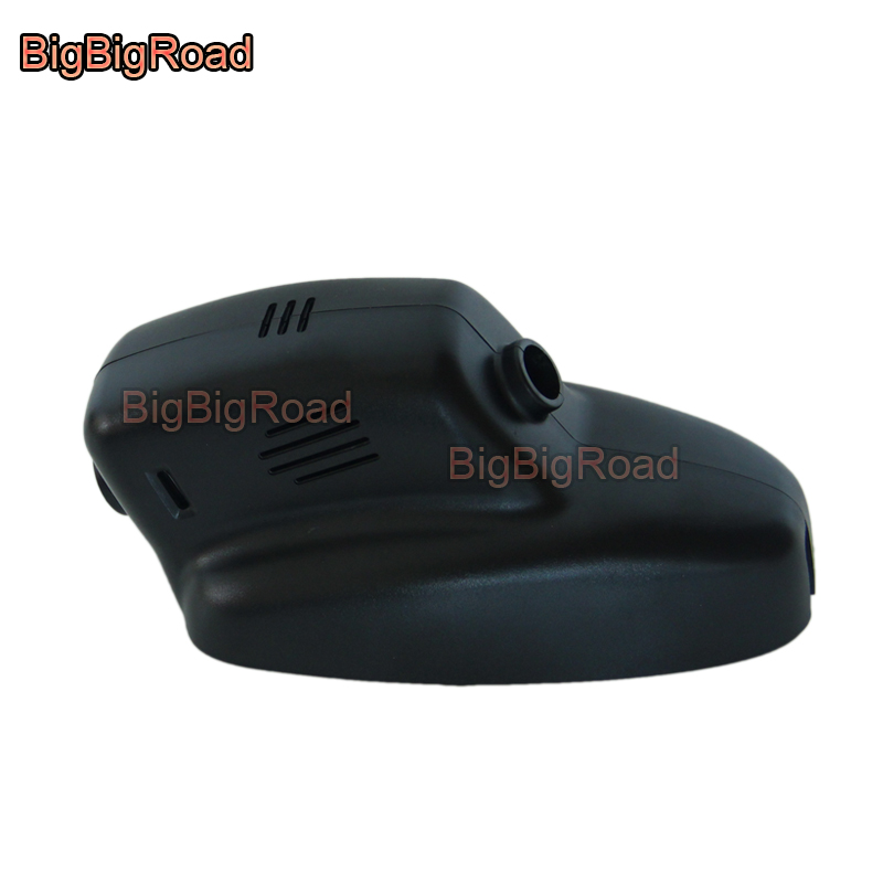 BigBigRoad Car DVR Wifi Video Recorder For Land Rover Discovery 4 HSE 2012 2013 2014 2015 2016 / Range Rover Evoque 2012 2013 bigbigroad for land rover discovery sport range rover evoque velar dual camera car wifi dvr video recorder dash cam black box