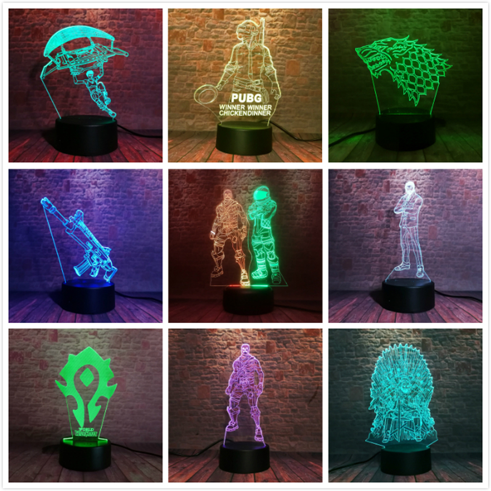 Amroe 2019 Souvenir Llama Battle Royale Game Chug Jug PUBG TPS Game of Thrones A Song of Ice and Fire 3D Figure Night Light GiftAmroe 2019 Souvenir Llama Battle Royale Game Chug Jug PUBG TPS Game of Thrones A Song of Ice and Fire 3D Figure Night Light Gift