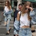 Women Summer Pants Casual Trousers For Ladies Blue Low Waist Jeans Vintage Patchwork Jean PaNts ripped Denim Streetwear