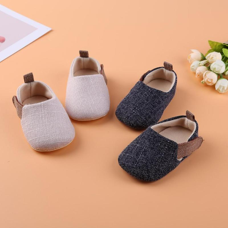 Kid Girls Boy First Walkers Soft Infant Toddler Shoes Cute Flower Soles Crib Shoes Footwear For Newborns Baby Shoes