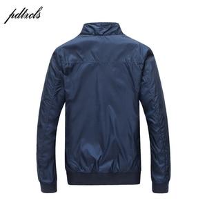 Image 3 - Hot Fashion Mens Dunne Lente Herfst Jassen Casual Mode Engeland Stijl Jas wind regen proof Jassen Grote size (M 5XL)
