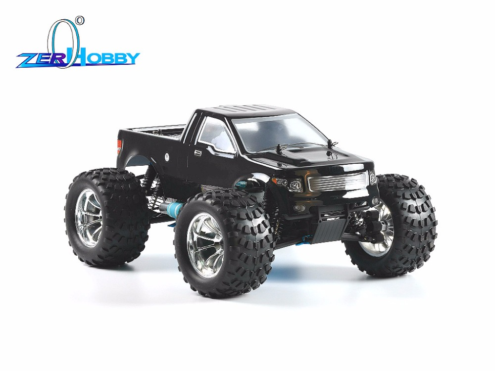 HSP Racing Car 1/10 Scale 4WD Off Road Nitro Monster Truck-Pivot Ball Suspension 18CXP Engine (ITEM NO. 94188 WITH EP STARTER) hsp 91466 radio 2ch 2 4g 1 10th scale nitro off road buggy pivot ball suspension car wholesale price