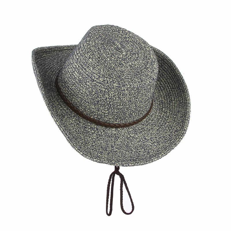 bcd1faf6a9f465 Detail Feedback Questions about GEMVIE Western Cowboy Sun Hat Wind ...