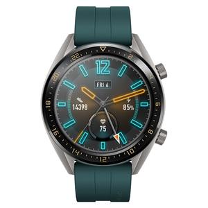 """Image 3 - Huawei社腕時計gtアクティブ版スマートスポーツウォッチ1.39 """"amoledカラフルな画面heartrate gps水泳ジョギングサイクリング睡眠腕時計"""