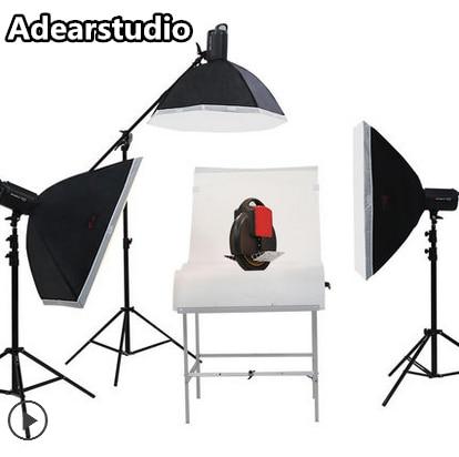 Jinbei 400w Photography Studio Flash Strobe Light Lighting Kit with (2)60x90cm softbox (1)TR-A2 Trigger for Video ShootingNO00DC jinbei photography light 400w set studio flash clothes portraitist softbox studio lights