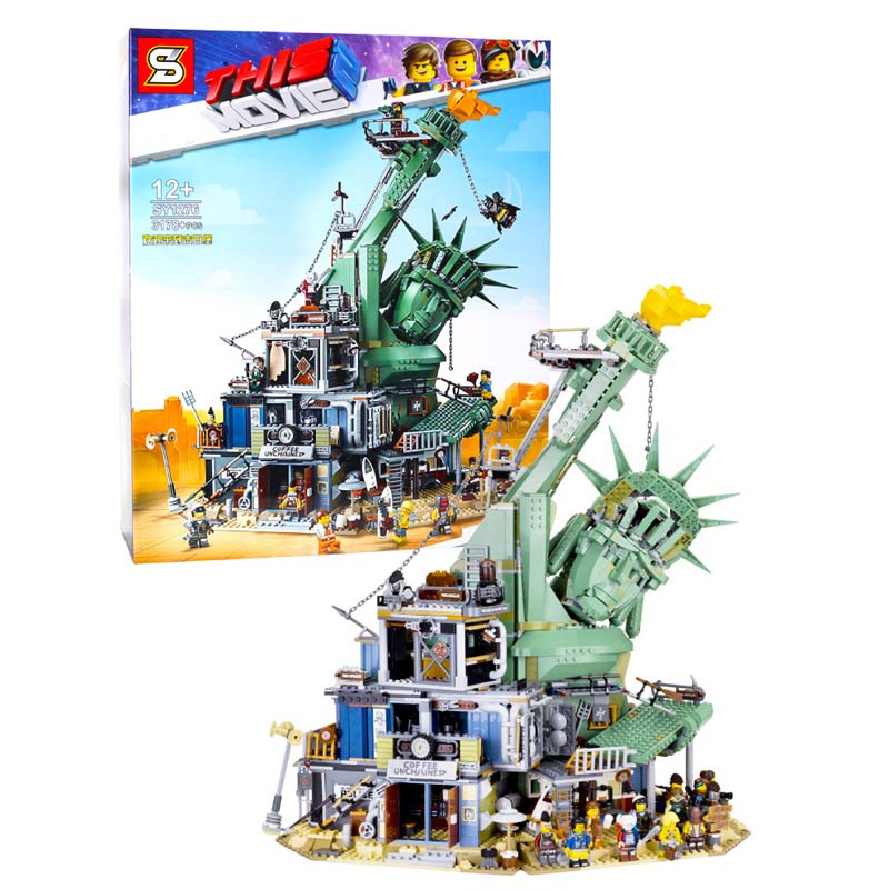 3560PC Boa Vinda ao Apocalypseburg 45014 modelo Filme legoINGlys 2 Conjunto Kit de Blocos de Construção Tijolos brinquedos de presente de aniversário de natal