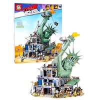 S1276 Welcome to Apocalypseburg lepins 45014 model legoINGs Movie 2 Building Blocks Kit Bricks Set christmas birthday gift toys
