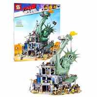 S1276 Welcome to Apocalypseburg lepins 45014 model legoINGs Movie 2 Building Blocks Kit Bricks Set christmas birthday gift toys