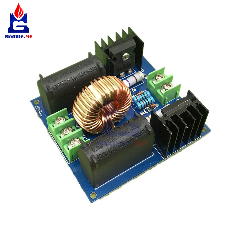 Power Supplies Generators Transformers Tesla Transformer Coil Driver On Induction Heater Schematic Diagram 10a 200 W Zvs Board For Supply Boost High Voltage Generator Heating Module System