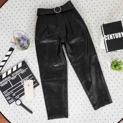 Sheepskin Fashion Harem Pants