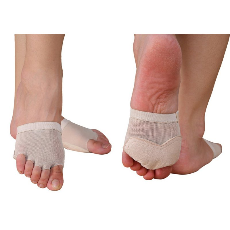 Metatarsal Forefoot Half Foot Protection Hot Toe Cyst Foot Care Socks Tool Belly Ballet Dance Foot Thong Toe Pad Practice Shoes