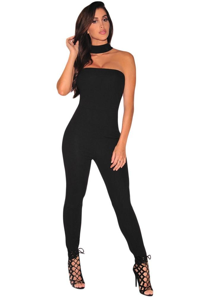 Black-Strapless-Choker-Jumpsuit-LC64042-2-1