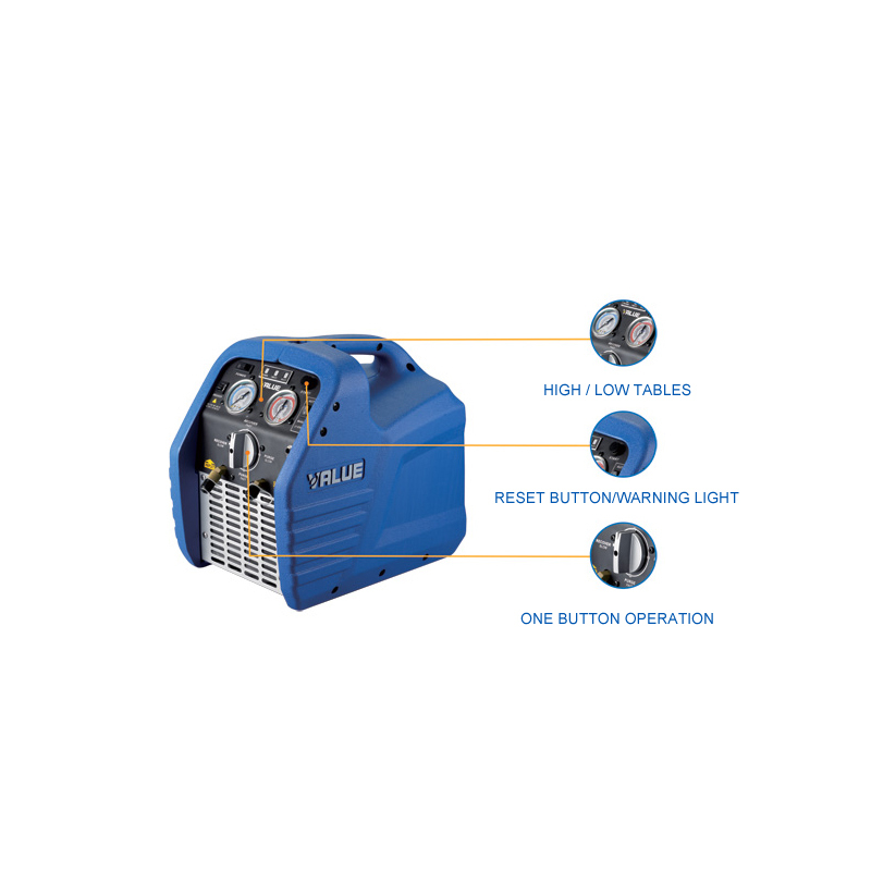1pcs High reliable Mini Refrigeration recovery units VRR12L compliant AC 220V