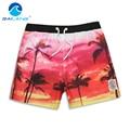 Gailang Marca Hombres Playa Junta Shorts Boxer Shorts Hombres Trunks del traje de Baño Trajes de Baño Bañadores Shorts Gay de Secado rápido Ocasionales