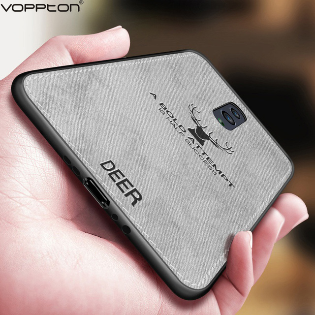 Classic Fabric Case For OPPO Reno 10X Zoom Phone Cover Animal Design TPU Silicone Frame Back Case for OPPO F11 Pro F11 A9