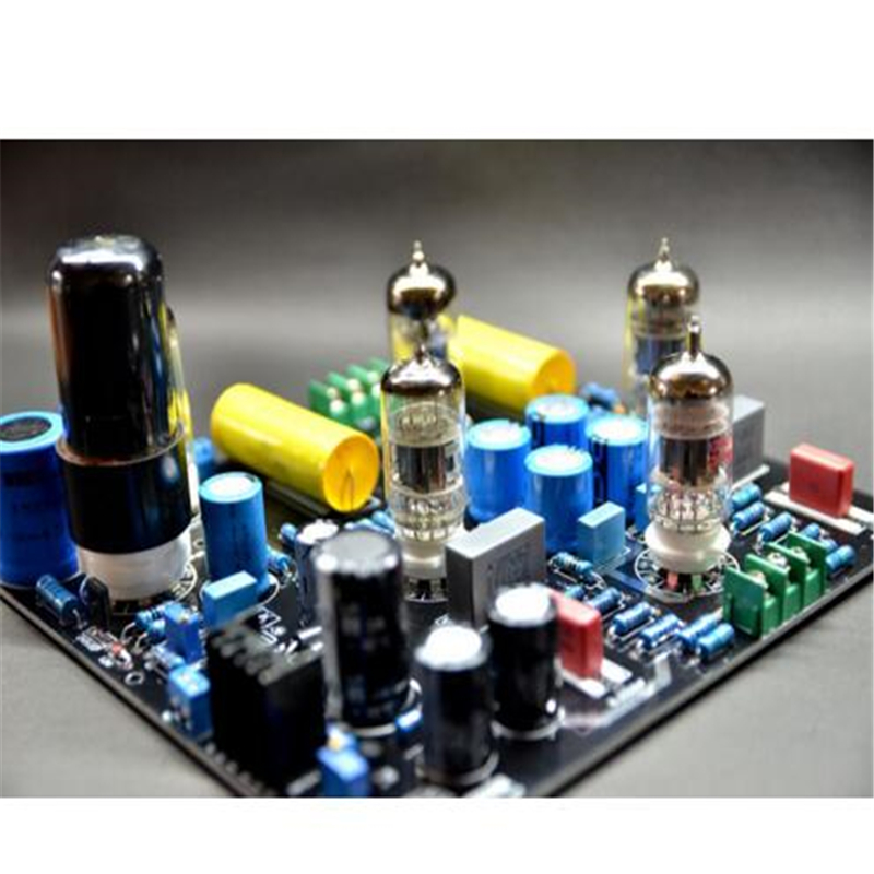 Elvis legend CAT-SL1-1 6Z4 + 12AU7 + 6N4*2 + 6N11 Tube de soupape à vide pré-amplificateur stéréo carte de préampli HiFi