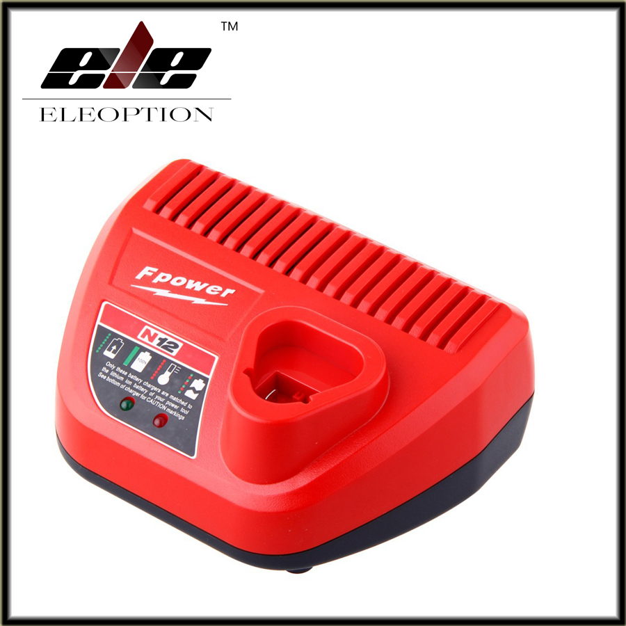 Eleoption Power Tool Battery 10.8-12V Charger For Bosch BC430 BAT411 BAT412 BAT413