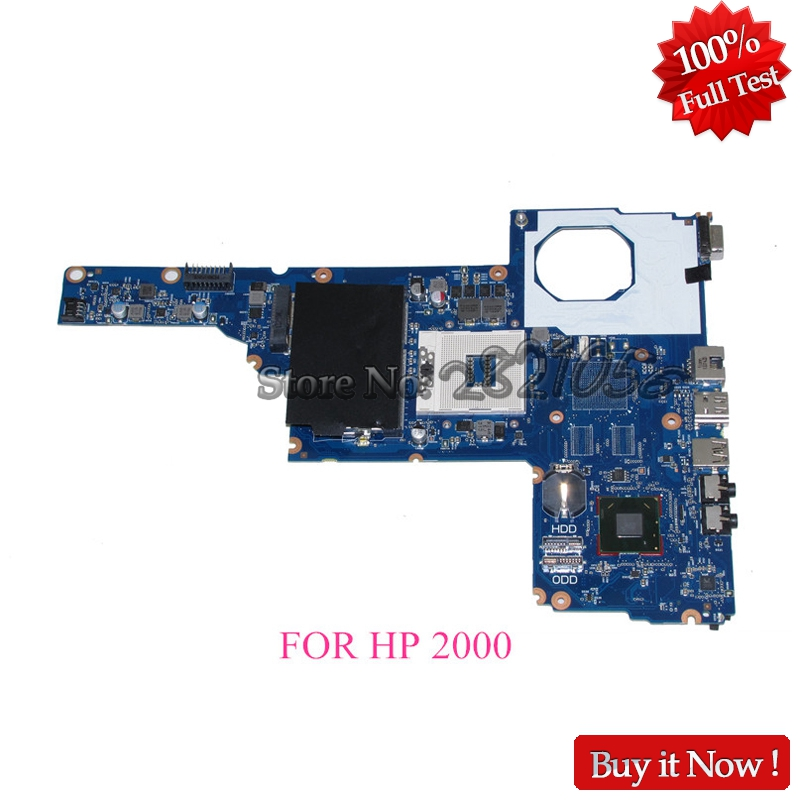 NOKOTION Laptop Motherboard For Hp 2000 450 Main Board 685107-001 685107-501 J8F DDR3 Full tested
