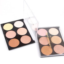 Miss Rose V Face Palette Highlighter Repair Capacity Contour Powder Blush Make Up Light Bronze Opalescent Makeup Cosmetic