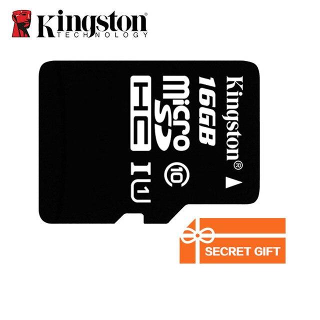 Classe cartão de memória Kingston 10 UHS-I 16 gb Cartão Micro SD Cartão MicroSD MicroSDHC TF