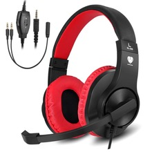 Butfulake SL-300 Wired Gaming headset 3.5mm Stereo Headphone  for Xbox One PS4 PC Game