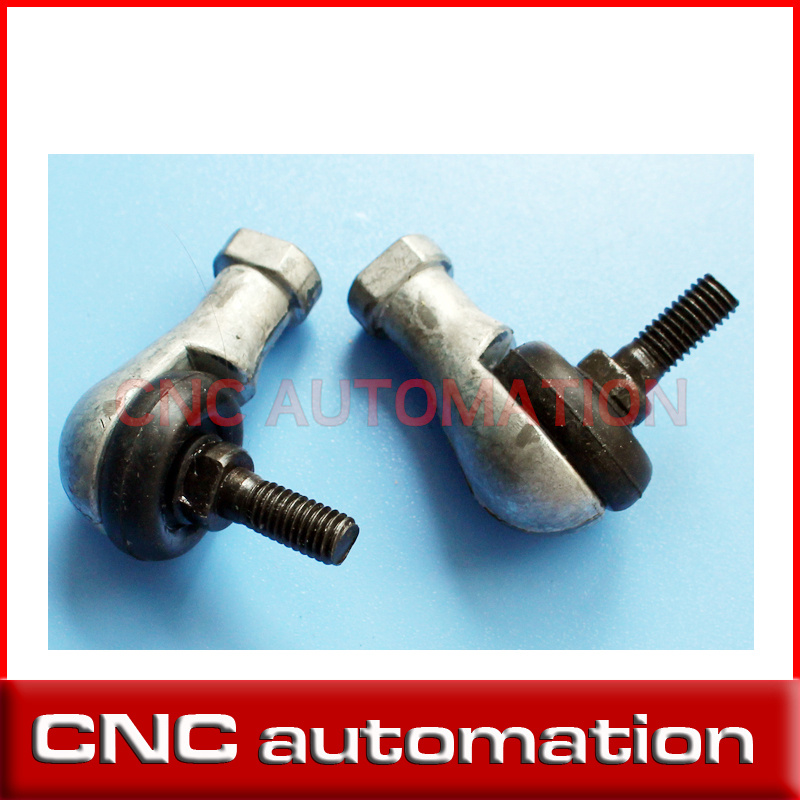 2 pcs SQ8 M8 Bore 90 Degrees Connector Ball Joint Rod End Bearing 8mm Male