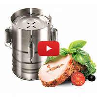 Ham presse VETTA in acciaio inox, D11X17SM cucina, coltello, thermos, piatto, tazza, set, sconto, di alta qualità 822-021