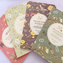 1pcs/lot Cute Floral Series Flower and Bird Color  Mini Notebook Cartoon Note Book Small School Supplies Korean Stationery
