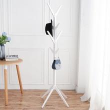 Fashion Furniture Solid Wood Living Room Coat Rack Display Stands Scarves Hats Bags Clothes Shelf цены онлайн