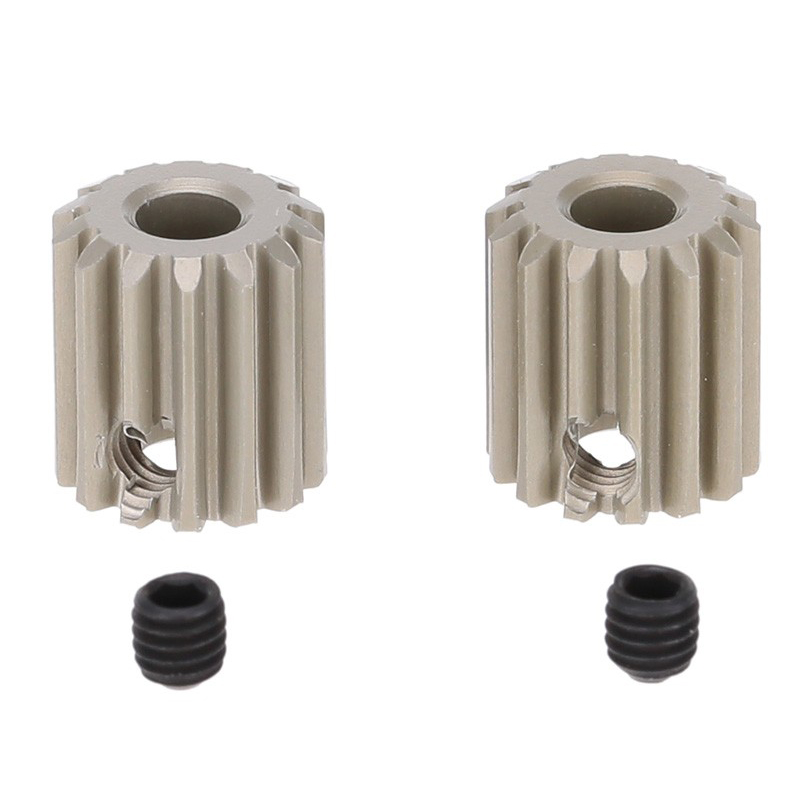 2Pcs 48DP 3.175mm 14T <font><b>Motor</b></font> Pinion <font><b>Gear</b></font> for <font><b>RC</b></font> Car Brushed <font><b>Brushless</b></font> <font><b>Motor</b></font> image