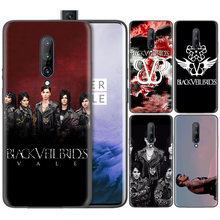 Business Pattern Phone Black Rubber Soft Silicone Case Bag Cover for 1+ Oneplus 6T Cases 6 7 Pro 5G Fundas Veil Brides BVB(China)