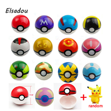 Elsadou Pokeball 1 Random font b Toy b font Action Figure Pikachu font b Toy b