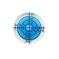(100 Pieces) QASE 32*7MM White Green Blue Color Spirit level Bubble Round Level Bubble Accessories for measuring instrument