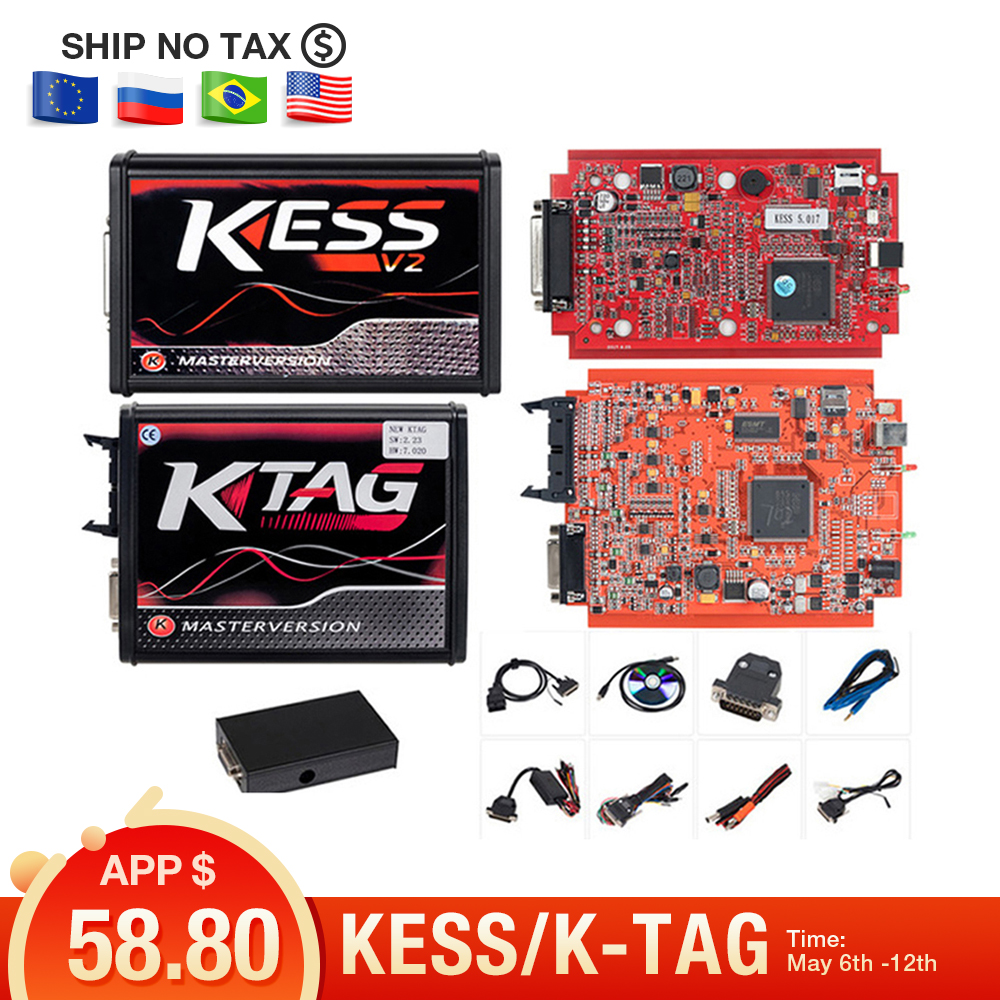 top 10 most popular kess v2 master obd2 list and get free