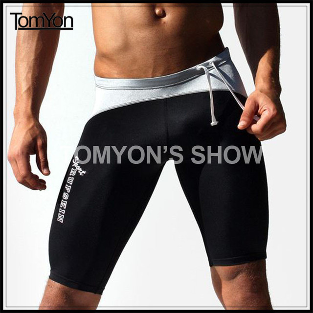 Men In Spandex Shorts Having Sex 111
