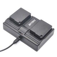 2Pcs 1400mAh DMW BLC12 DMW BLC12E DMCBLC12 BLC12 Battery Dual Charger For Panasonic FZ1000 FZ200 FZ300