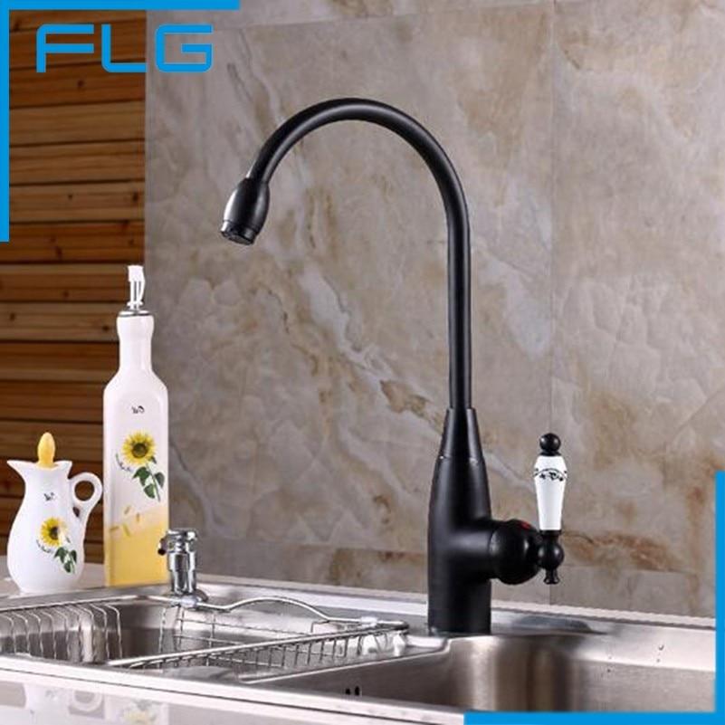 Black Kitchen Sink For Sale: Hot Sale All Copper ORB Black Bronze Kitchen Sink Faucet