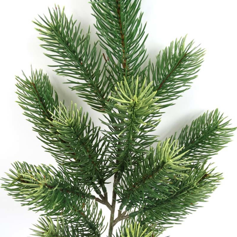 Plastic Pine Branch Artificial Christmas Tree Branches Decoration