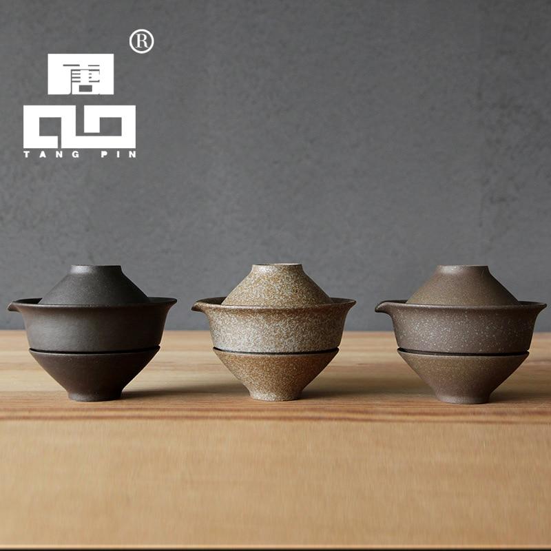 Tangpin 2017 New Arrival Japanese Handmade Ceramic Teapot