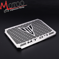 Motoo Motorcycle Radiator Grille Guard Cover Protector For YAMAHA MT07 MT 07 MT 07 2014 2015
