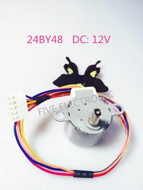 24BYJ48 12V 4 phase 5 draht Getriebemotor + XH leitungsdraht Schritt ...
