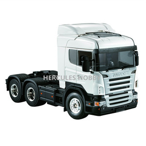 [HERCULES HOBBY] 1 14 Scale Scania R620 3 Axle 6x4 Highline Tractor Truck Kit