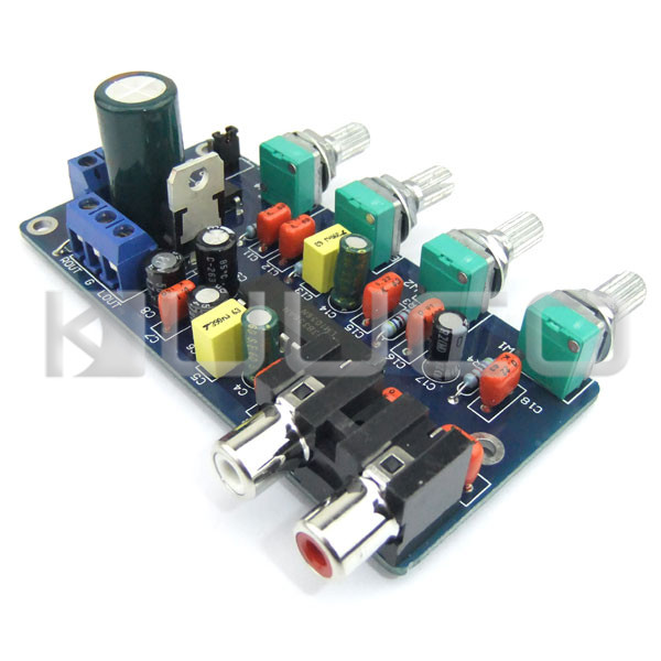 Image 3 - Low Pass Filter Audio Amplifiers Tone Board Power Controller Subwoofer Circuit Design Board Audio Control Module-in Furniture Accessories from Furniture
