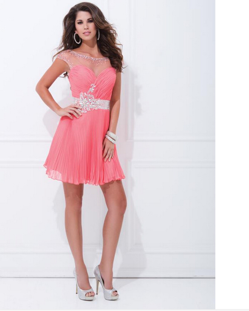Sexy Short Prom Dresses Fast Shipping Evening Dress Luxury Beads ...