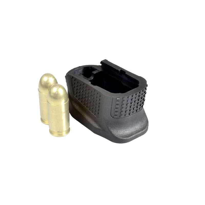 +2 Rounds Glock 43 Magazine Extension Plus 2 Mag Extension Glock 43  Enhanced Magazine Base Plate for Glock G43