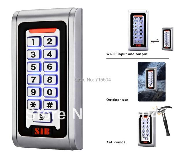 Single door access control keypad S600EM-W