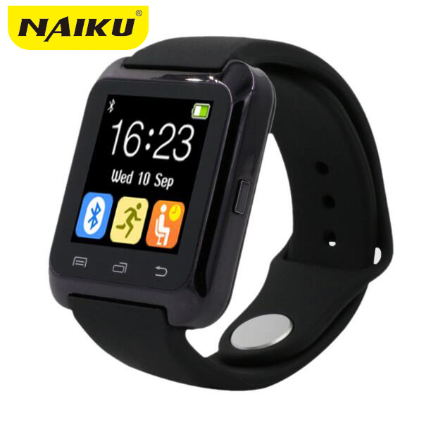 imágenes para U80 Smartwatch Bluetooth Reloj Inteligente para iPhone IOS Android Smart Phone Desgaste Reloj Usable Dispositivo Smartwach PK U8 GT08 DZ09